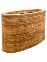 Кашпо Rattanplanter oval natural